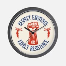 Expect Respect Wall Clock
