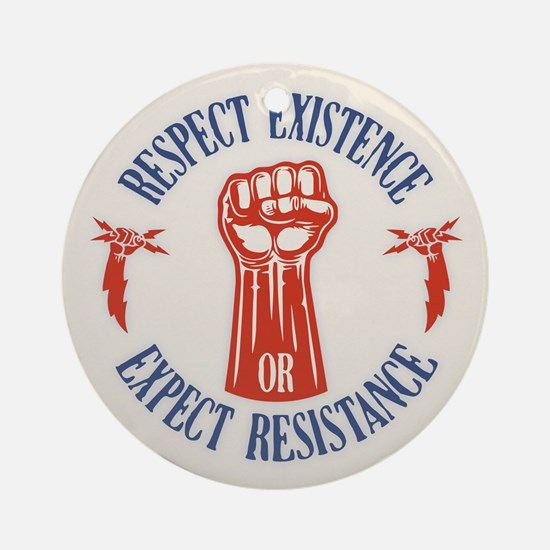 Expect Respect Ornament (Round)