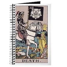 Death Tarot Card Journal