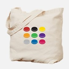 Bottle Caps Tote Bag