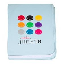 Soda Junkie baby blanket