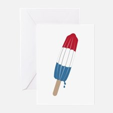 Popsicle Rocket Greeting Cards
