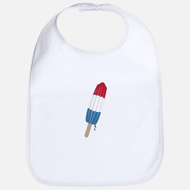 Popsicle Rocket Bib