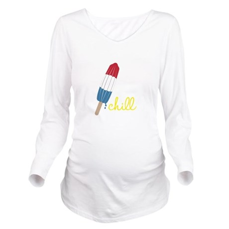 Chill Long Sleeve Maternity T-Shirt