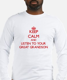 Keep Calm and Listen to your Great Grandson Long S