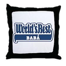 WB Dad [Greek] Throw Pillow