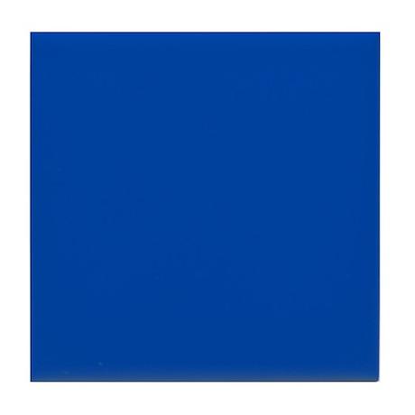 Solid Cobalt Blue Tile Coaster