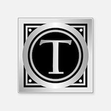 Deco Monogram T Sticker