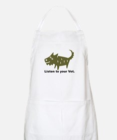 Listen to your Vet BBQ Apron