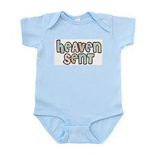 Heaven Sent creeper Infant Bodysuit