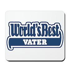 WB Dad [German] Mousepad