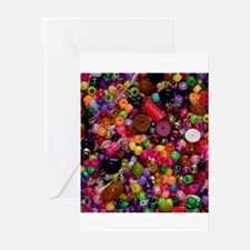 Colorful Beads - Crafty Greeting Cards (Package of