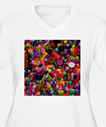 Colorful Beads - Crafty T-Shirt