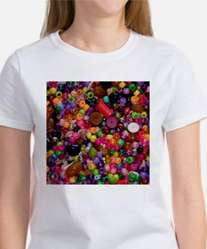 Colorful Beads - Crafty Tee