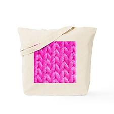 Pink Kniting - Crafty Tote Bag