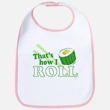How I Sushi Roll Bib