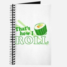 How I Sushi Roll Journal