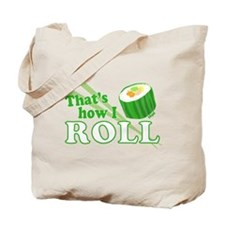 How I Sushi Roll Tote Bag