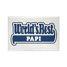 WB Dad [German] Rectangle Magnet