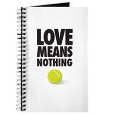 LOVE MEANS NOTHING - TENNIS Journal