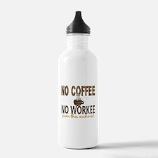 Archivist No Coffee No Water Bottle