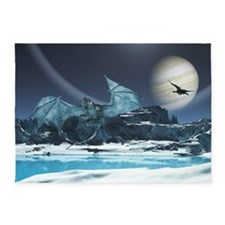 Ice Dragon 5'x7'Area Rug