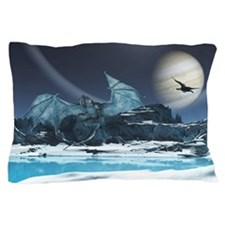 Ice Dragon Pillow Case