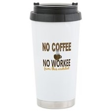 Architect No Coffee No Travel Mug