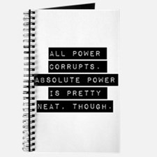 All Power Corrupts Journal