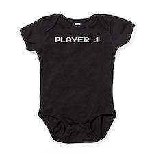Player 1 Baby Bodysuit