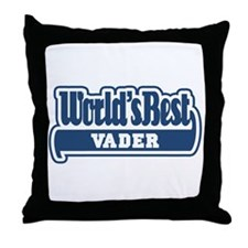 WB Dad [Flemish] Throw Pillow