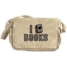 I Love Books Messenger Bag