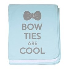 Bow Ties Are Cool baby blanket