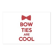 Bow Ties Are Cool Postcards (Package of 8)