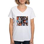 WalterEShow Women's V-Neck T-Shirt