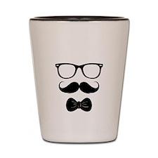 Mister Moustache Shot Glass