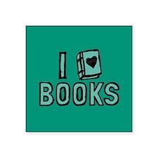 I Heart My Books Sticker