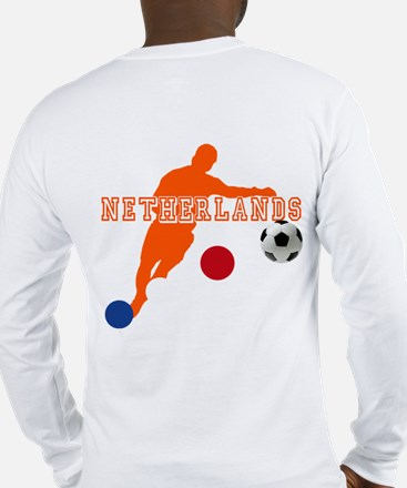 Netherlands Football Long Sleeve T-Shirt