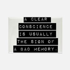 A Clear Conscience Magnets