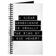 A Clear Conscience Journal