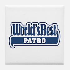 WB Dad [Esperanto] Tile Coaster