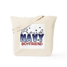 Proud Navy Boyfriend Tote Bag