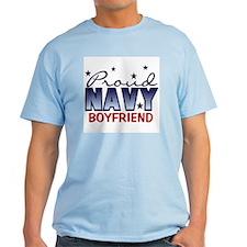 Proud Navy Boyfriend T-Shirt