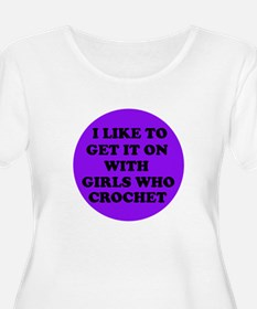I Like To Get It On With Girl T-Shirt