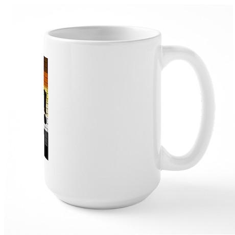 BEAR PRIDE FLAG/GRRR! Large Mug