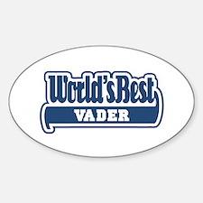 WB Dad [Dutch] Oval Decal