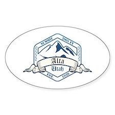 Alta Ski Resort Utah Decal
