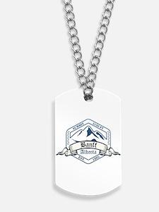 Banff Ski Resort Alberta Dog Tags