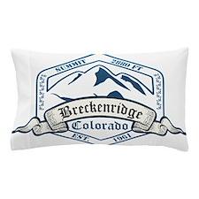 Breckenridge Ski Resort Colorado Pillow Case