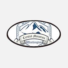 Crystal Mountain Ski Resort Washington Patches